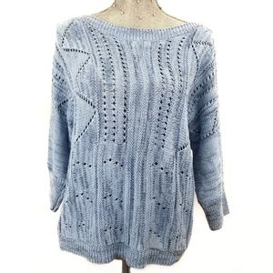 New York and company light blue sweater